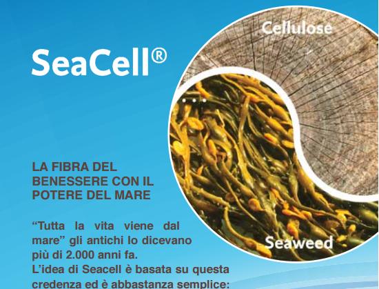 SEACELL: la fibra con il potere del mare